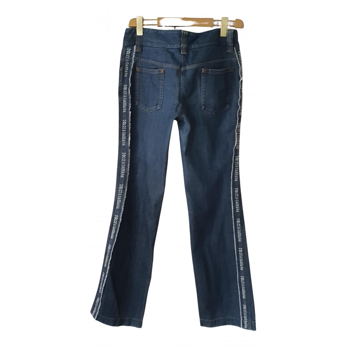 Dolce & Gabbana N Blue Cotton Jeans for Women 31 US
