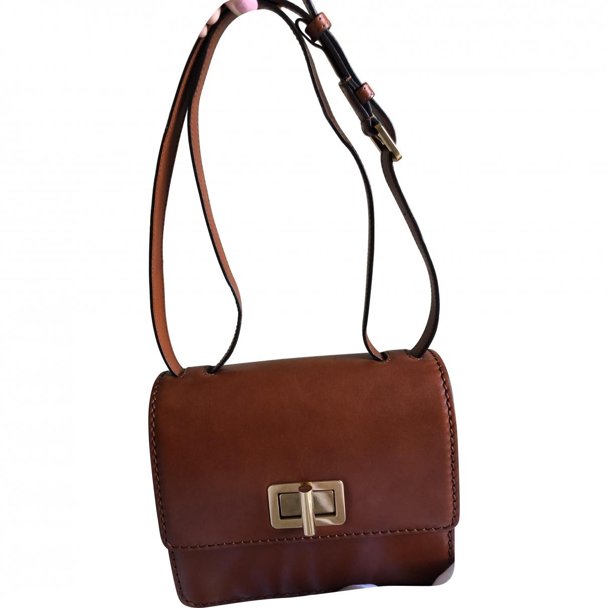 Chloe \N Handtasche in  Braun Leder