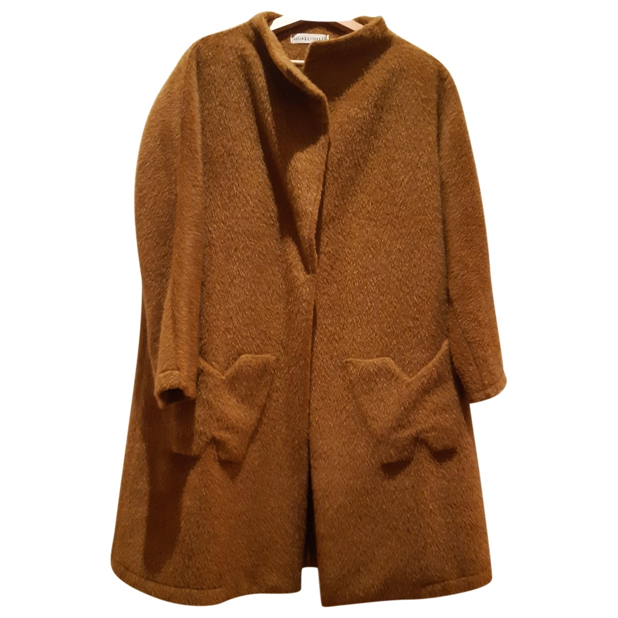 Non Signé / Unsigned Oversize Faux fur coat for Women 40 IT
