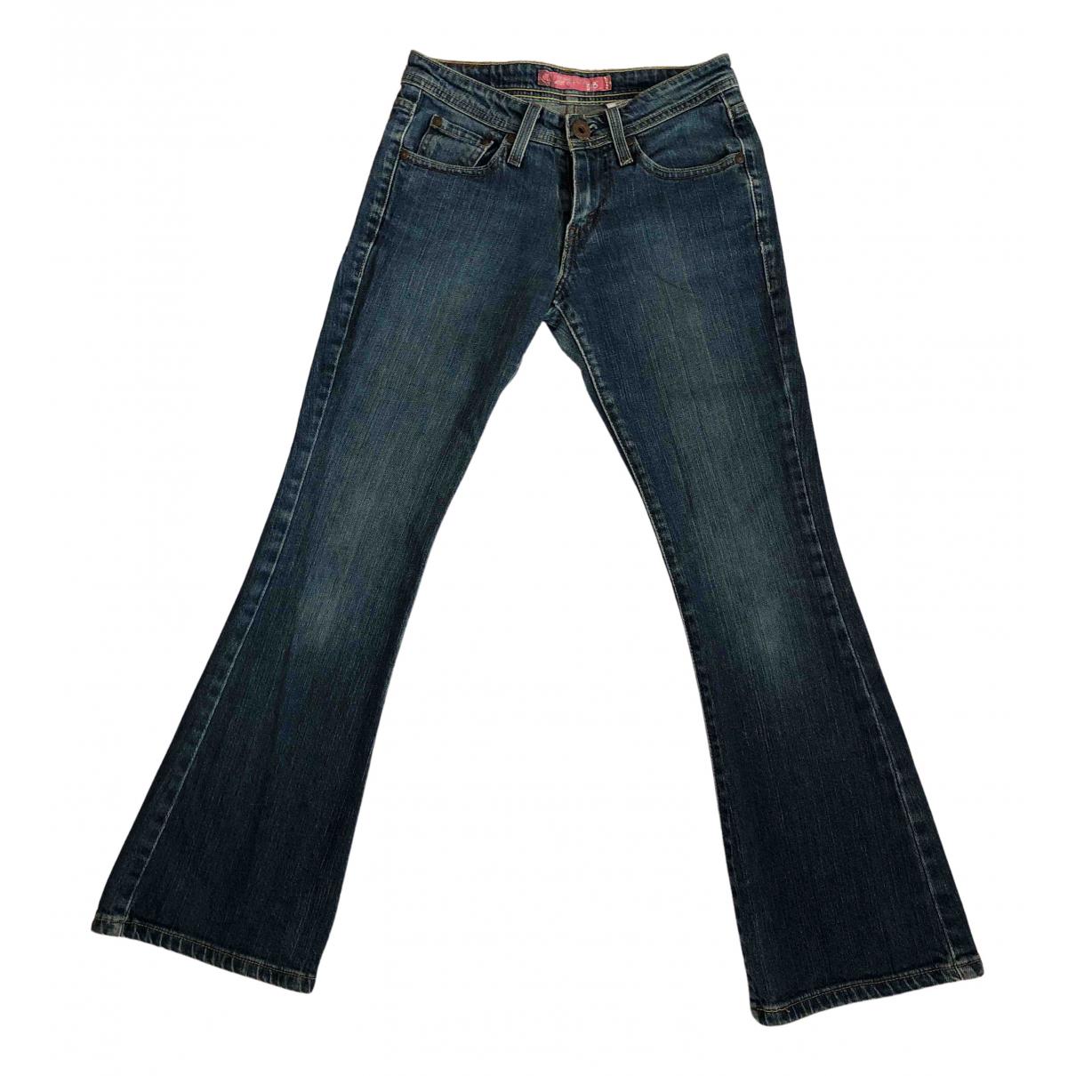 Levi's N Blue Denim - Jeans Jeans for Women 24 US
