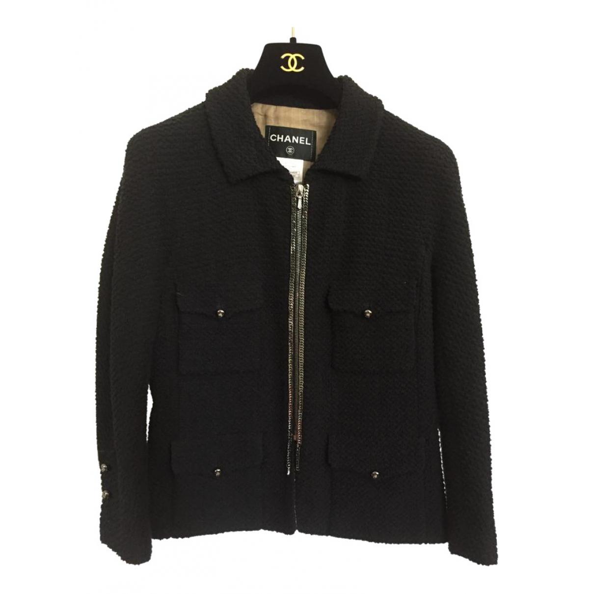 Chanel \N Black Cotton jacket for Women 42 FR