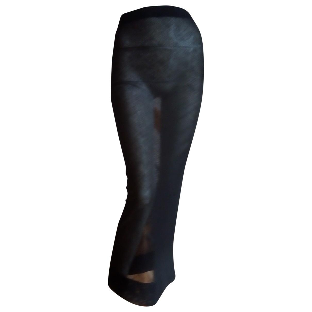 Karl Lagerfeld - Jupe   pour femme en coton - noir