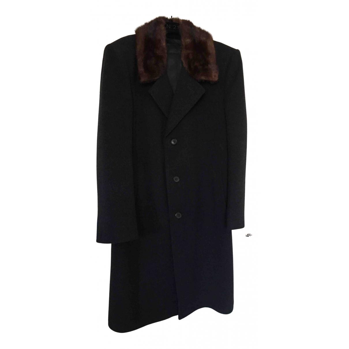 - Manteau   pour homme en laine - anthracite