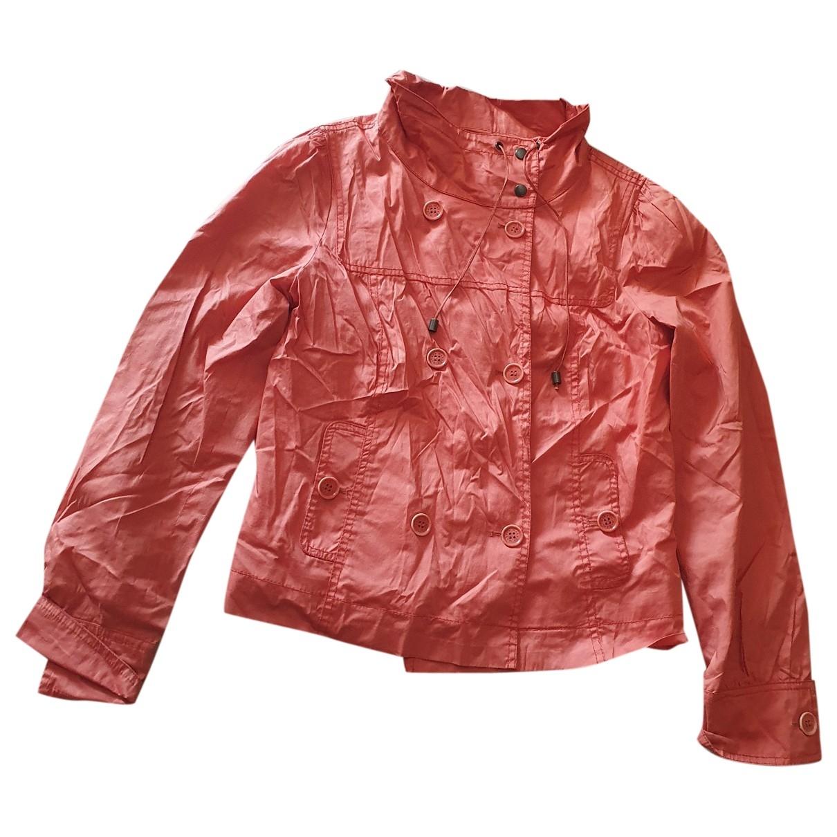 Max & Co \N Orange Cotton jacket for Women 46 IT