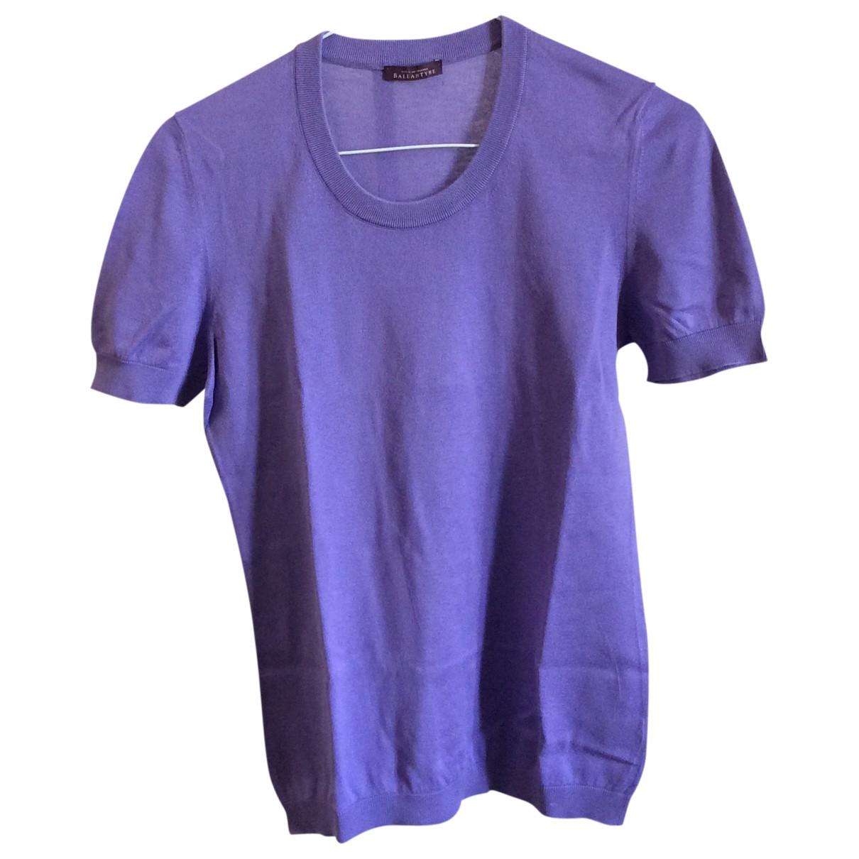 Ballantyne - Top   pour femme en coton - violet