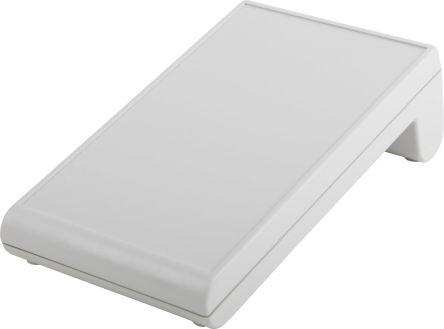 Bopla Bopult, Sloped Front, ABS, 176 x 106 x 54mm Desktop Enclosure, Light Grey