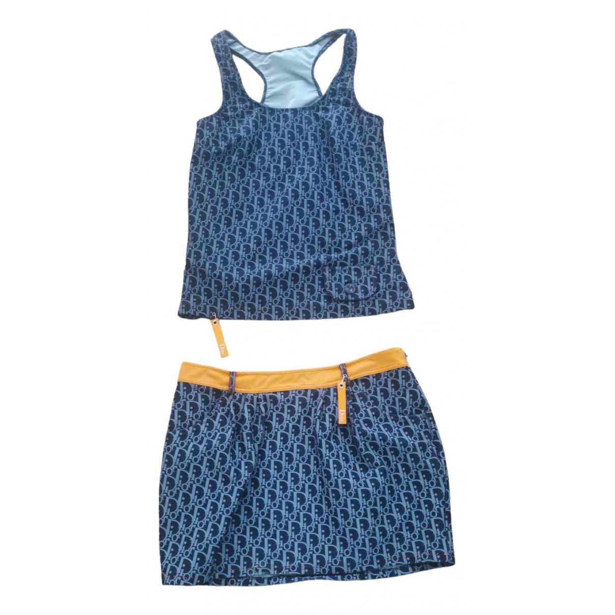 Dior \N Rocke in  Blau Polyester