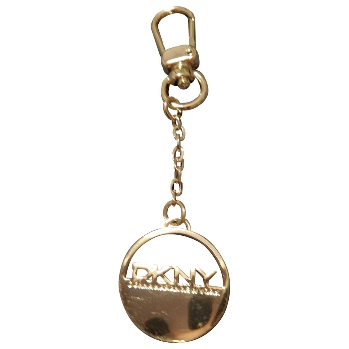 Dkny - Bijoux de sac   pour femme en metal - argente
