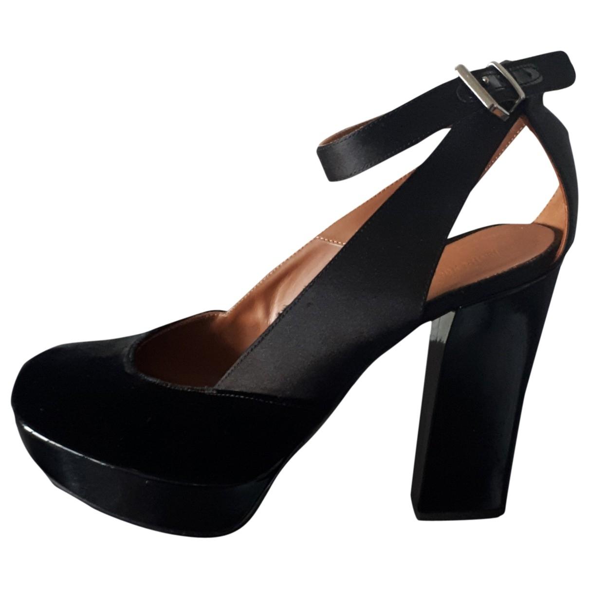 Emporio Armani \N Black Cloth Heels for Women 40 EU