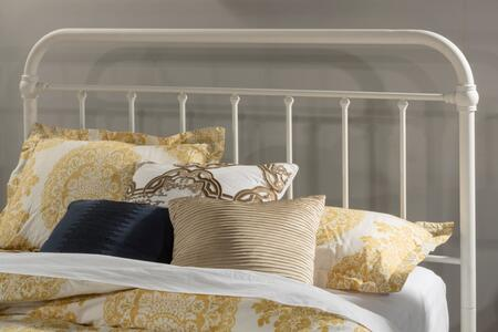 Kirkland Collection 1799HFQR Full/Queen Size Headboard with Rails  Open-Frame Panel Design and Sturdy Metal Construction in Soft