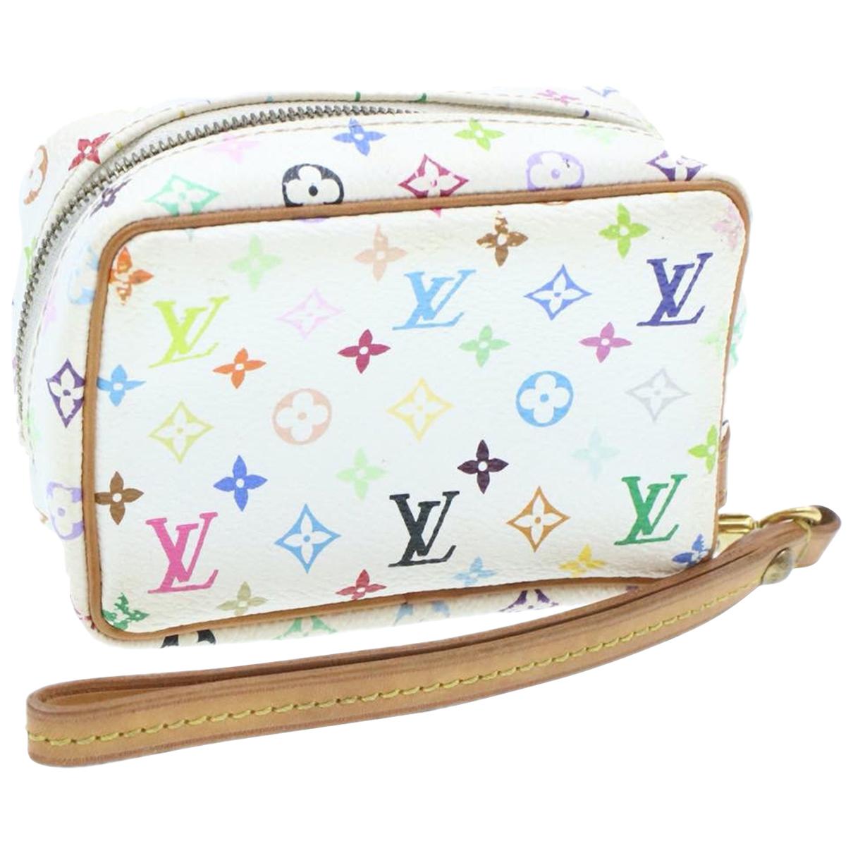 Louis Vuitton - Sac de voyage   pour femme en toile - blanc