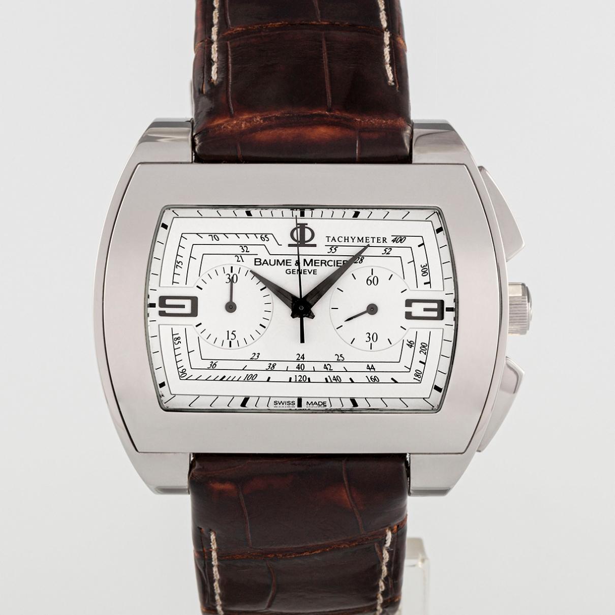 Baume Et Mercier Hampton Uhr in  Silber Stahl