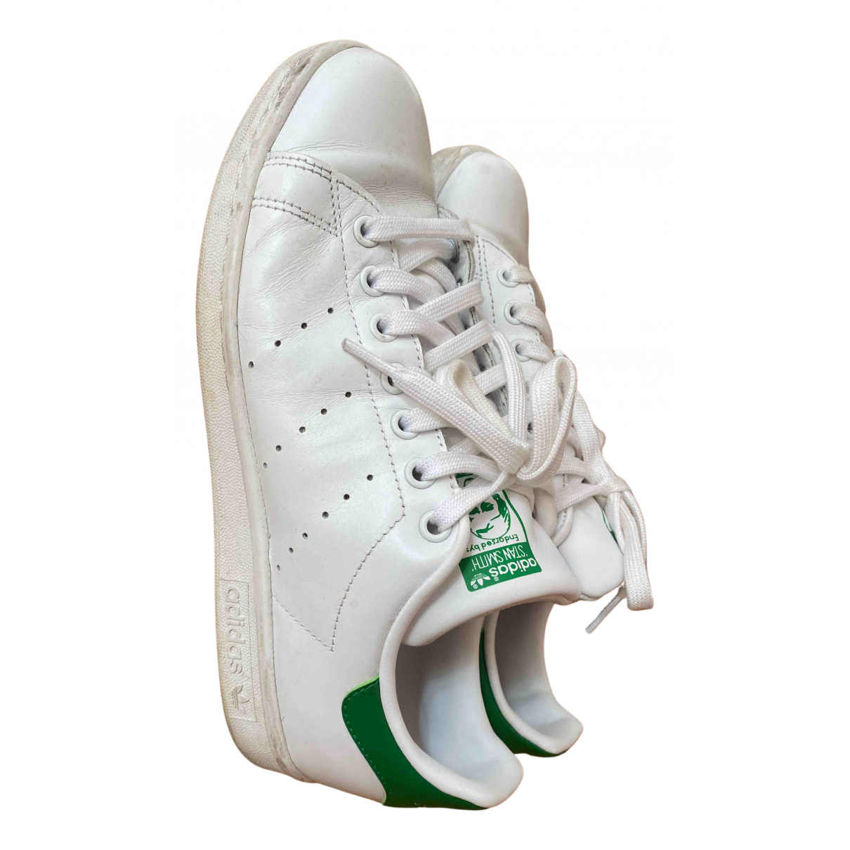 Adidas Stan Smith White Leather Trainers for Men 40.5 EU