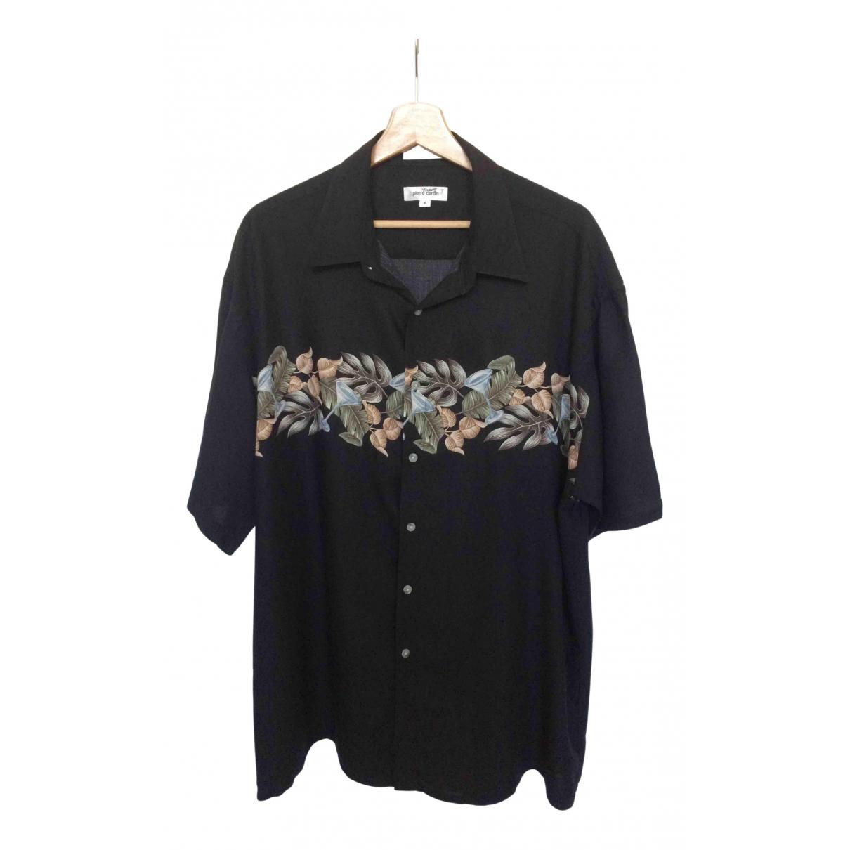 Pierre Cardin - Chemises   pour homme en autre - noir