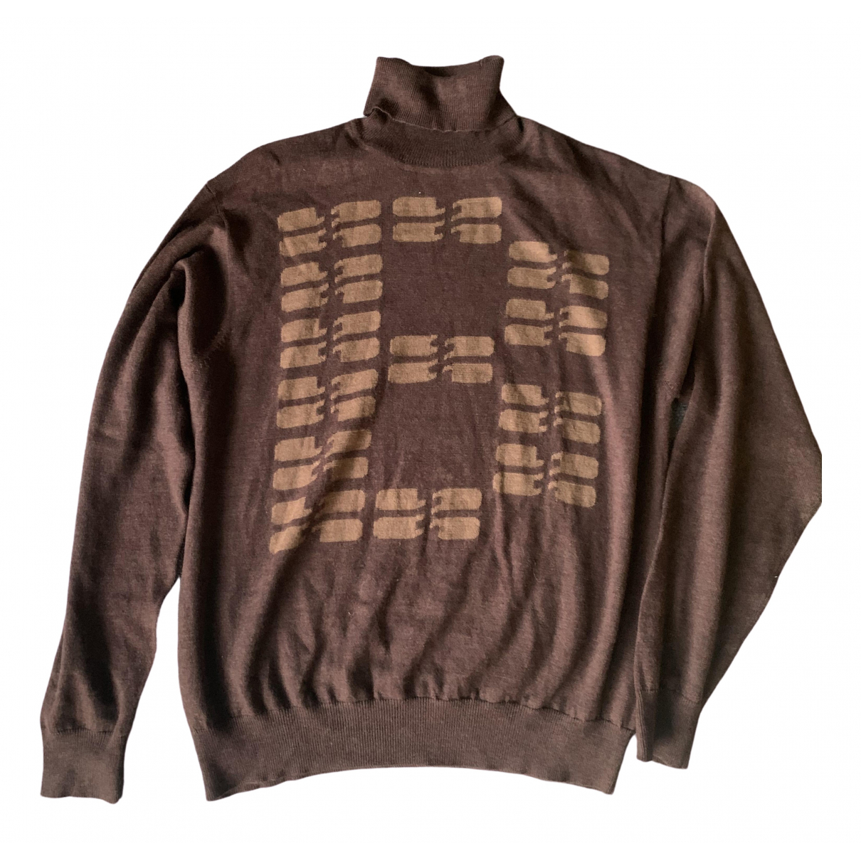 Balenciaga \N Pullover.Westen.Sweatshirts  in  Braun Kaschmir