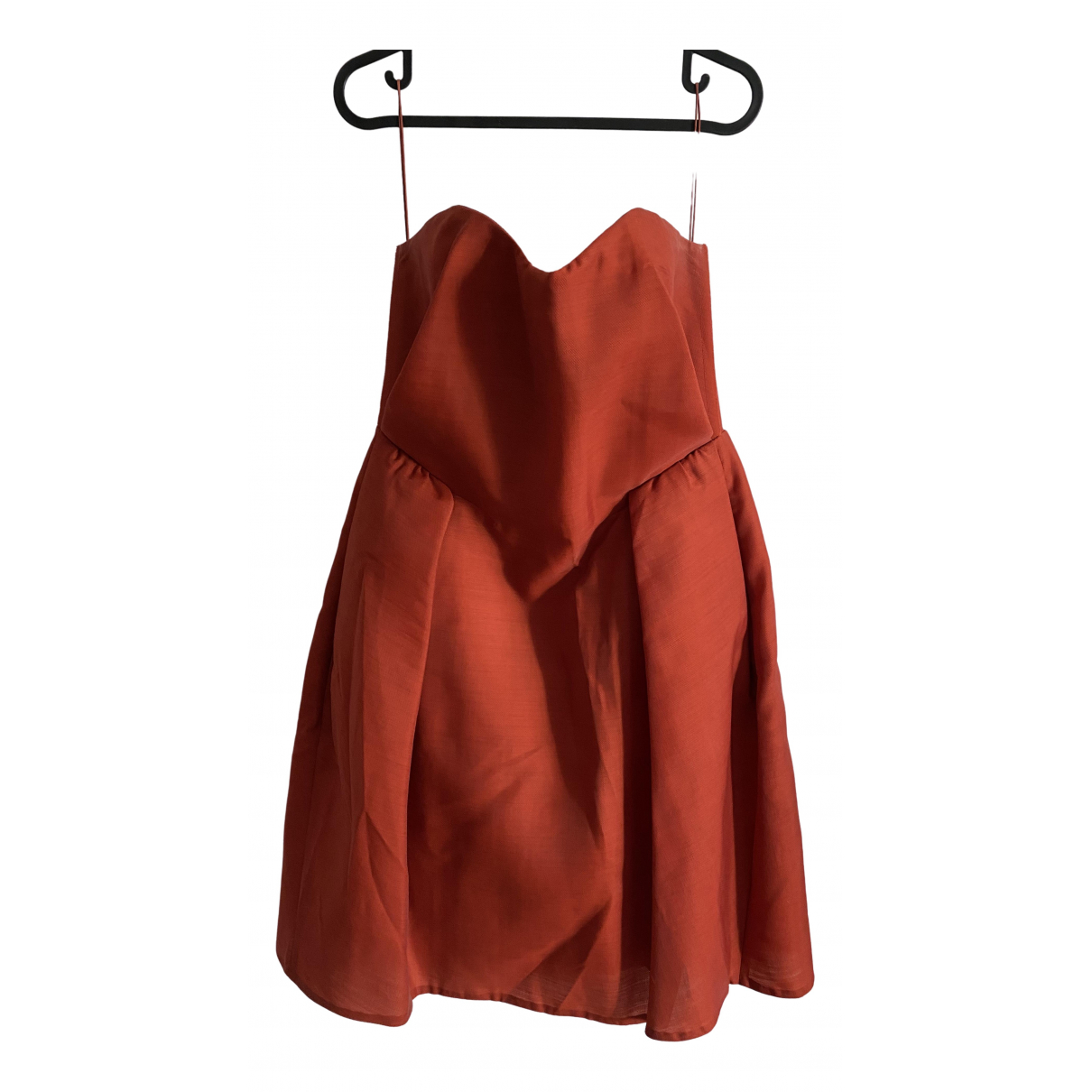 Carven \N Kleid in  Rot Polyester