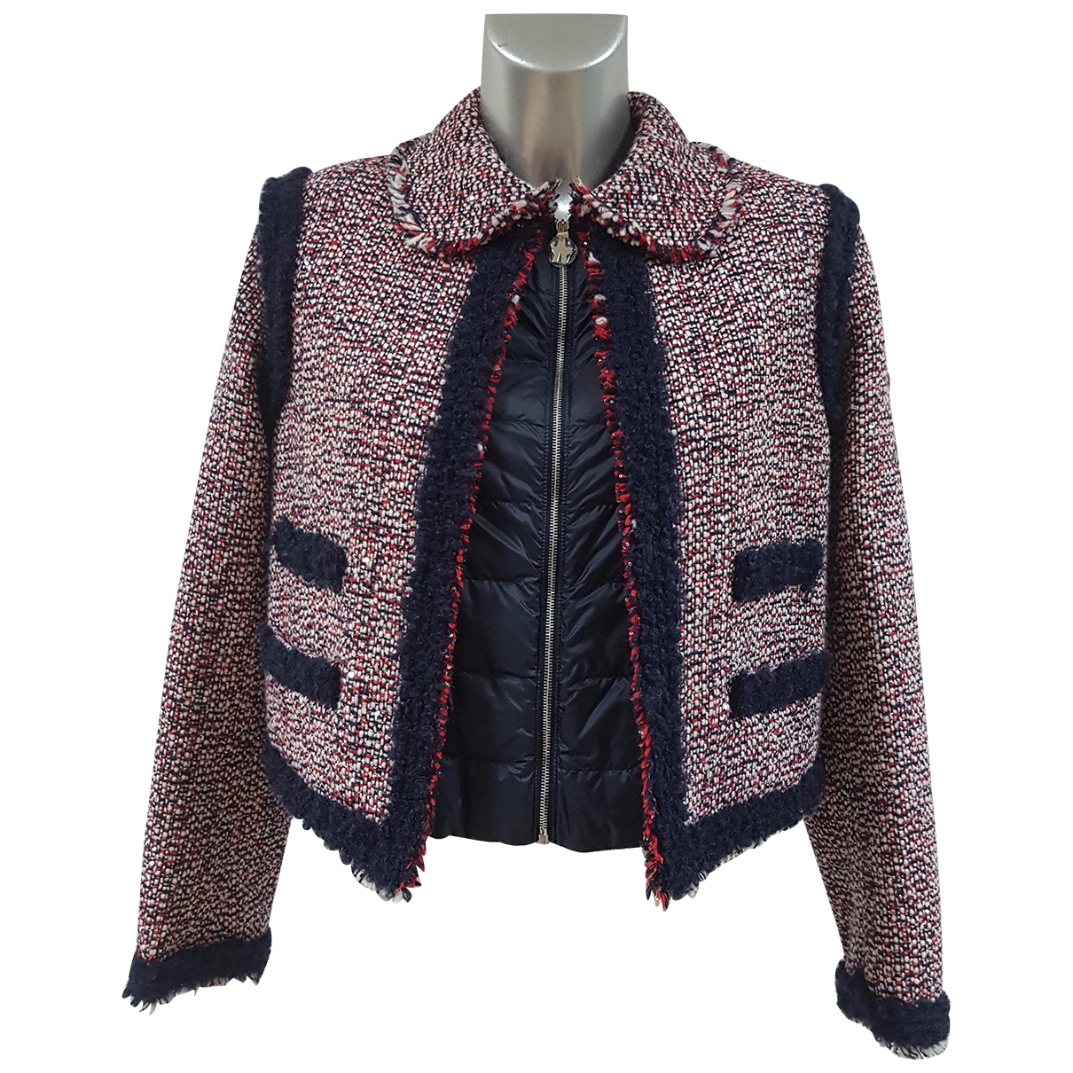 Moncler Gamme Rouge Red Cotton jacket for Women 1 US