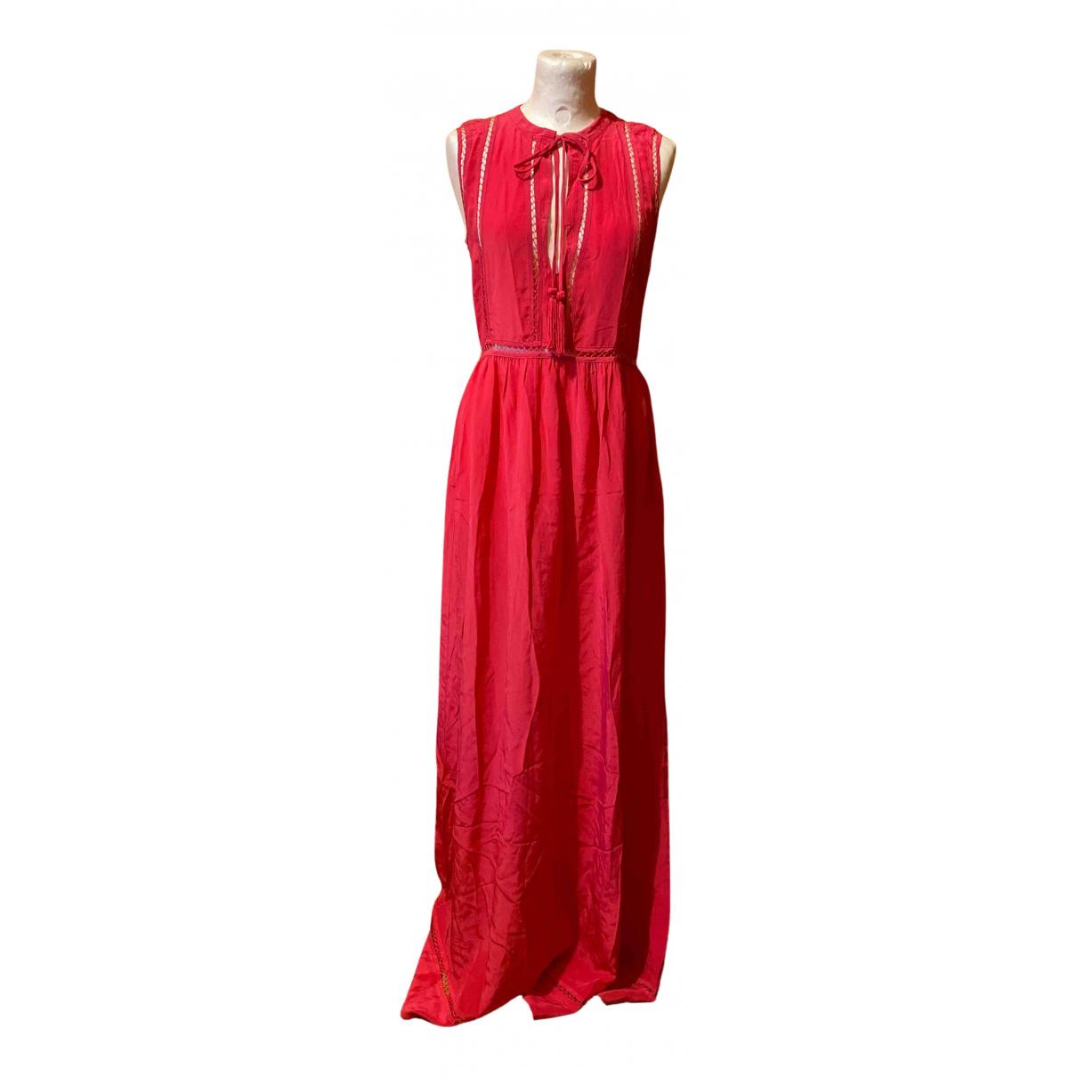 Parosh \N Kleid in  Rosa Seide