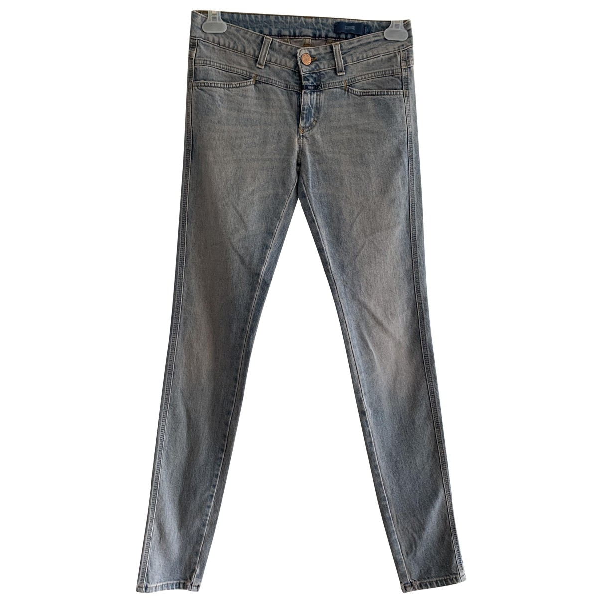 Closed \N Blue Cotton - elasthane Jeans for Women 27 US