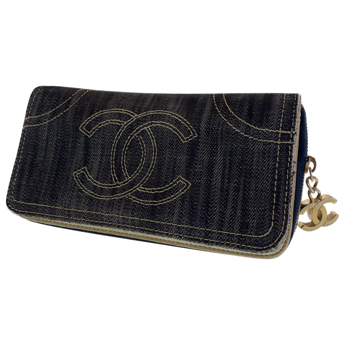 Chanel N Denim - Jeans wallet for Women N