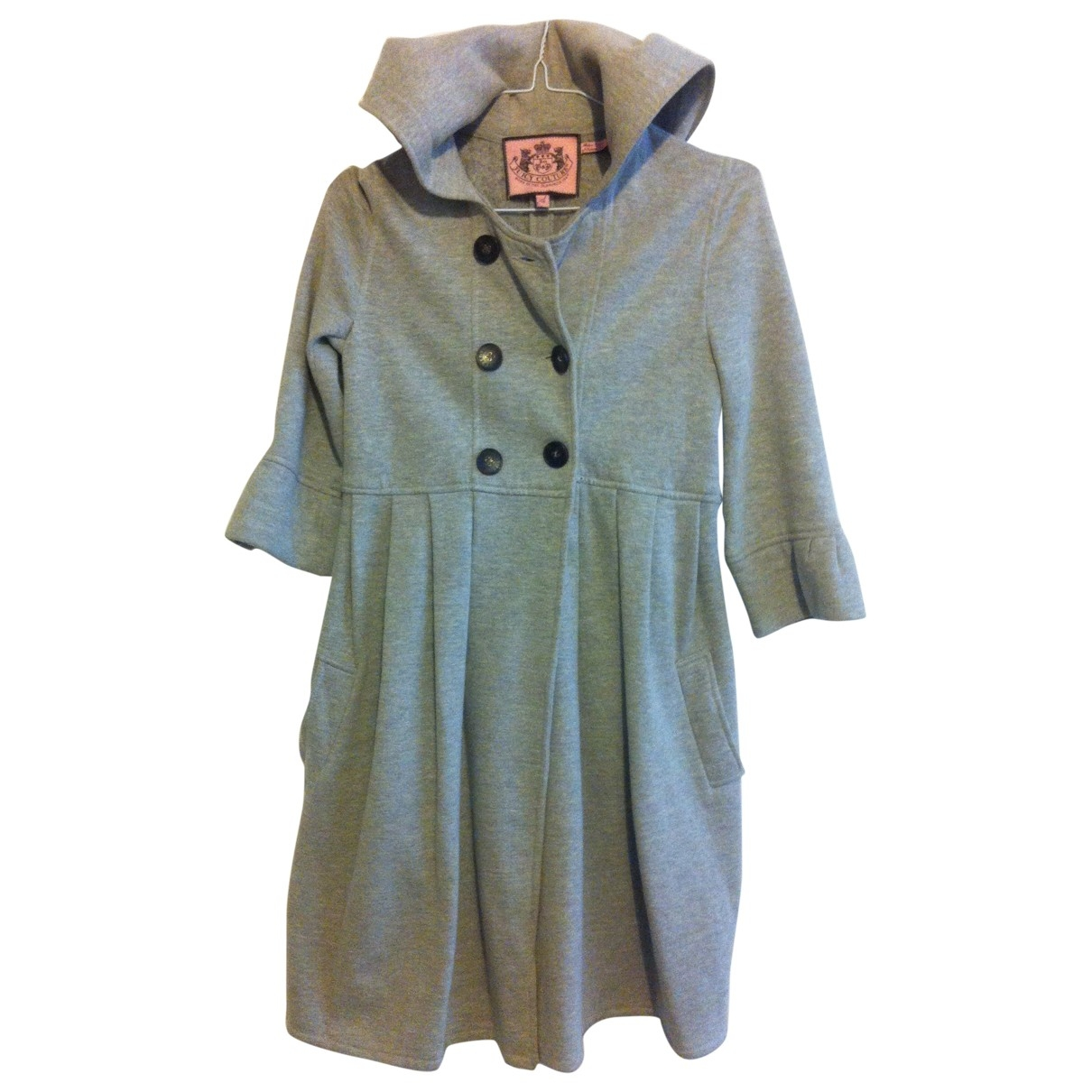 Juicy Couture \N Grey Cotton coat for Women S International
