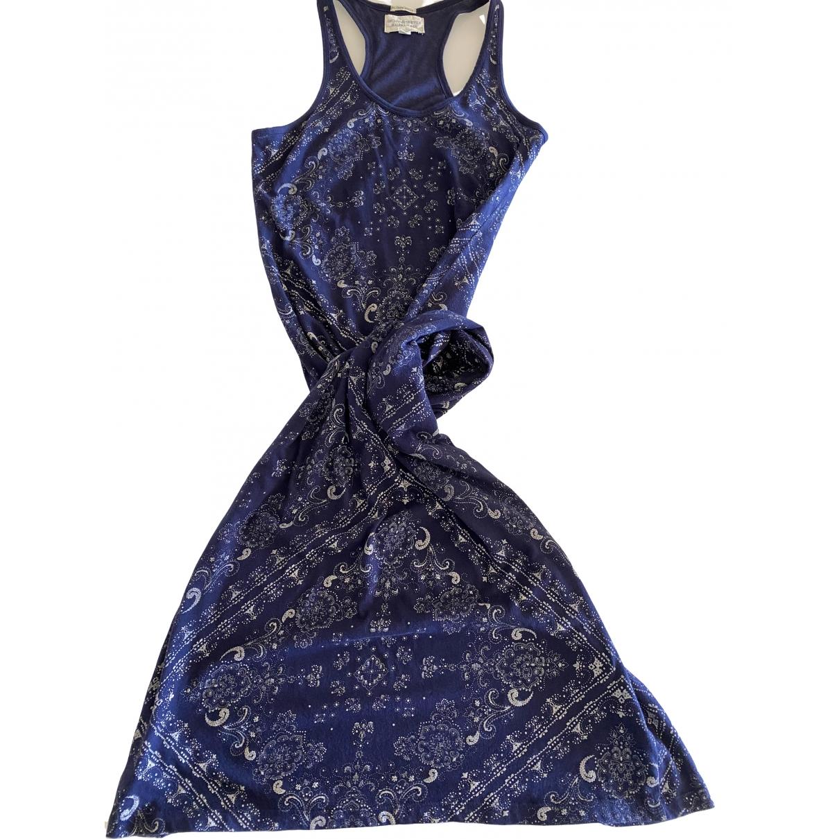 Ralph Lauren Denim & Supply - Robe   pour femme en coton - marine