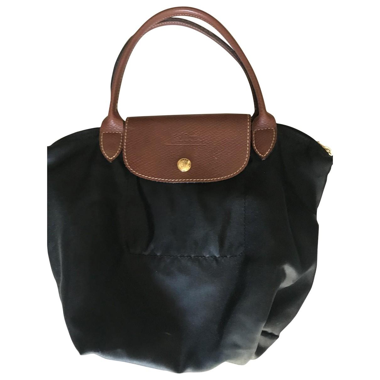 Longchamp Pliage  Black handbag for Women \N