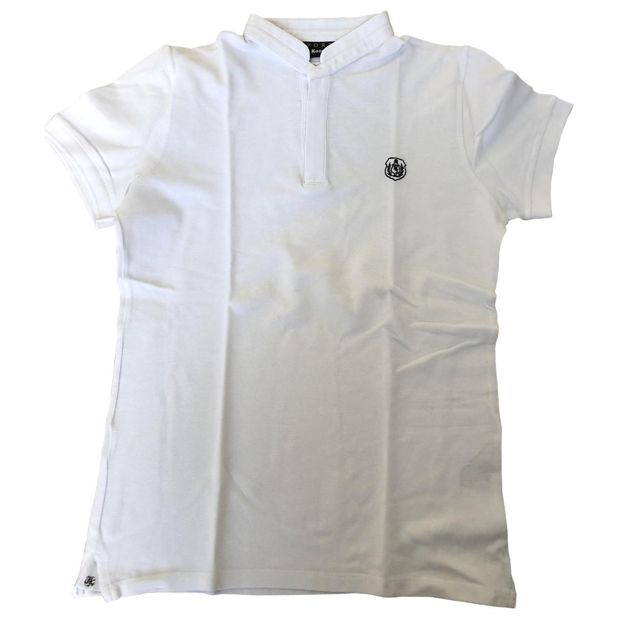 The Kooples - Polos   pour homme en coton - blanc