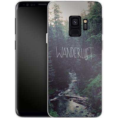 Samsung Galaxy S9 Silikon Handyhuelle - Wanderlust - Rainier Creek von Leah Flores