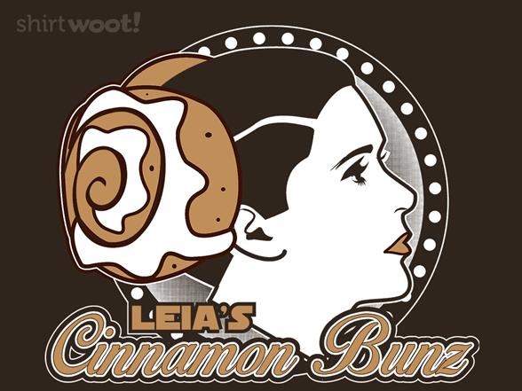 Leia's Cinnamon Bunz T Shirt