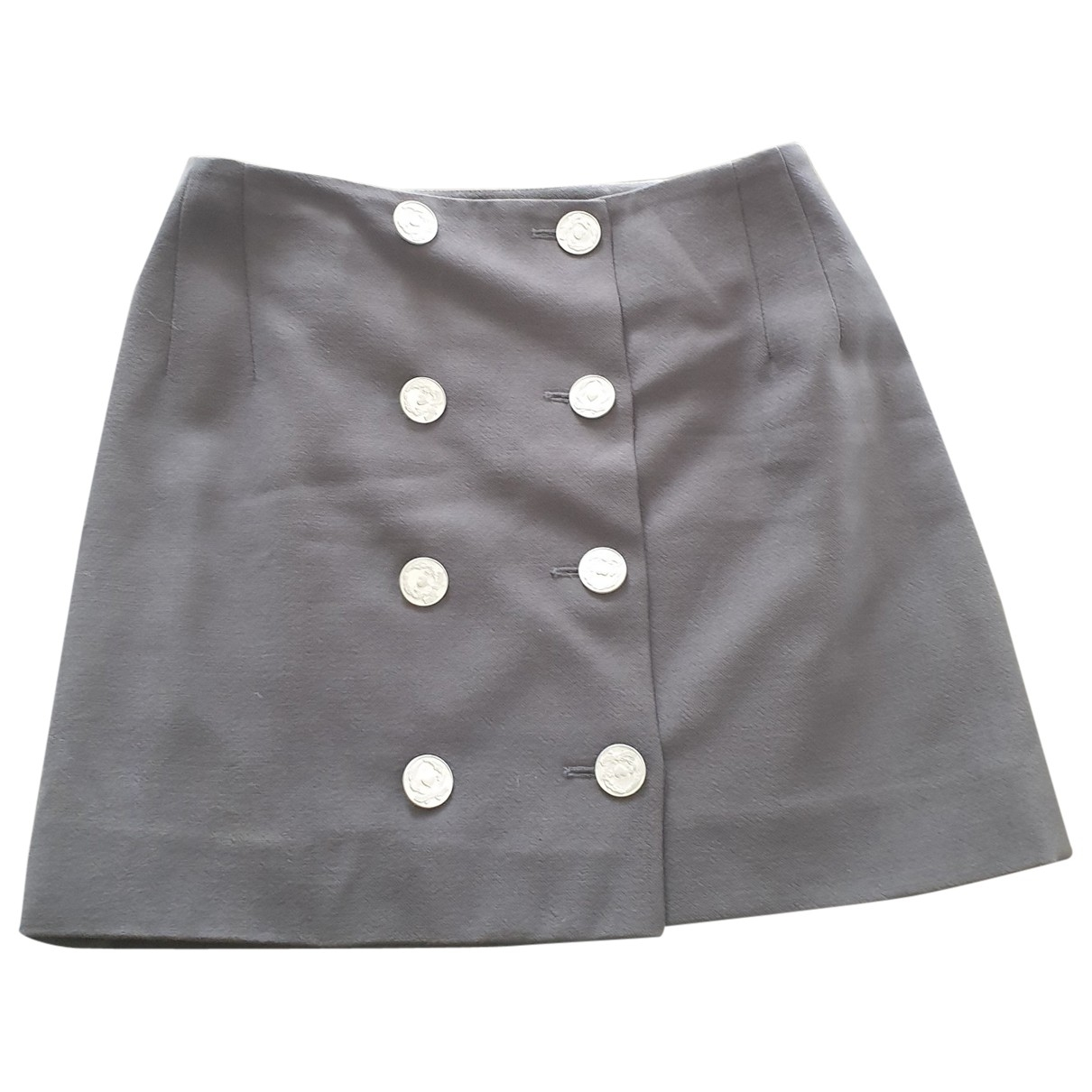 Moschino Cheap And Chic - Jupe   pour femme en laine - noir
