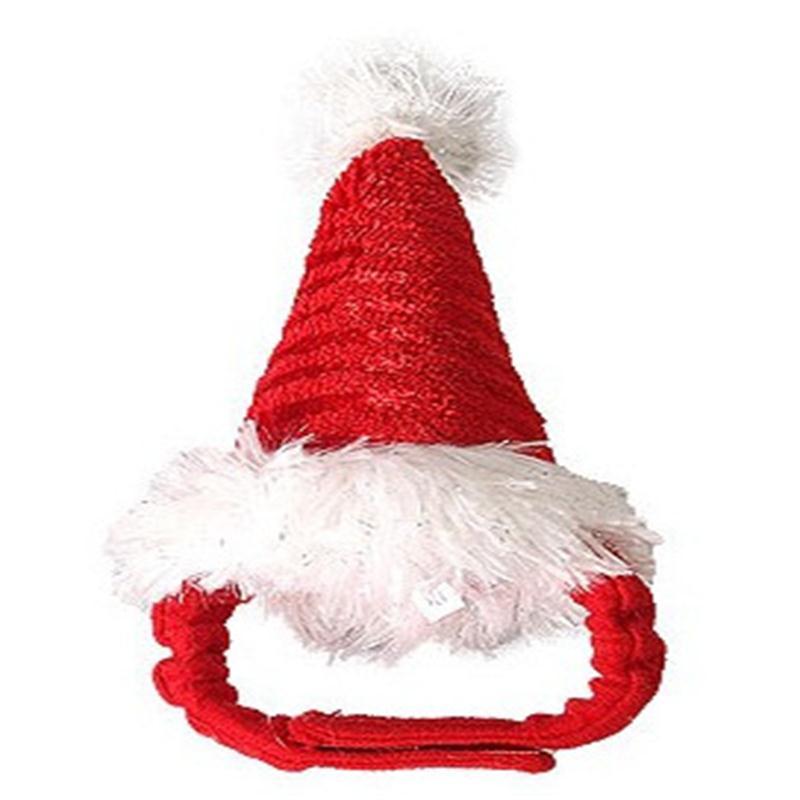 Guinea Pig Christmas Costume Cute Red Fleece Hat