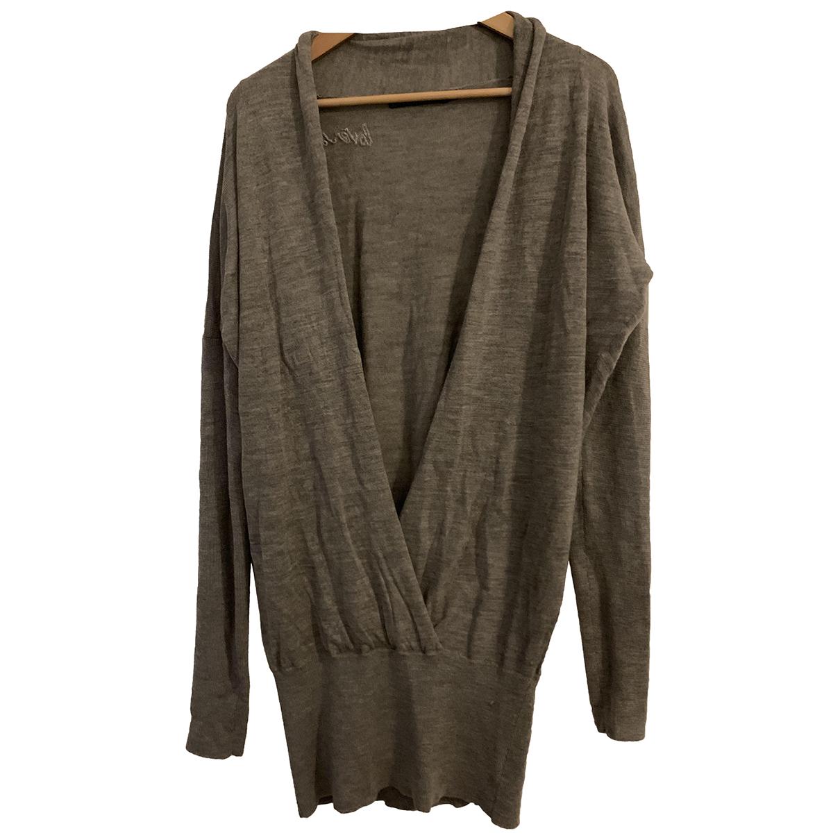 Berenice - Pull   pour femme en laine - gris