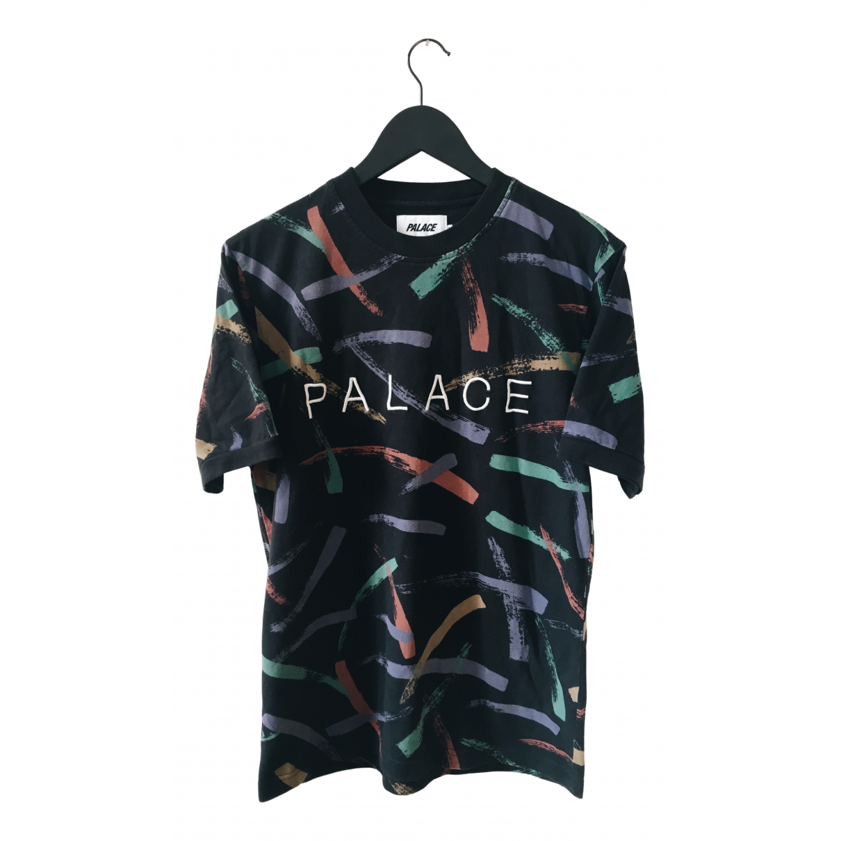 Palace \N Black Cotton T-shirts for Men S International