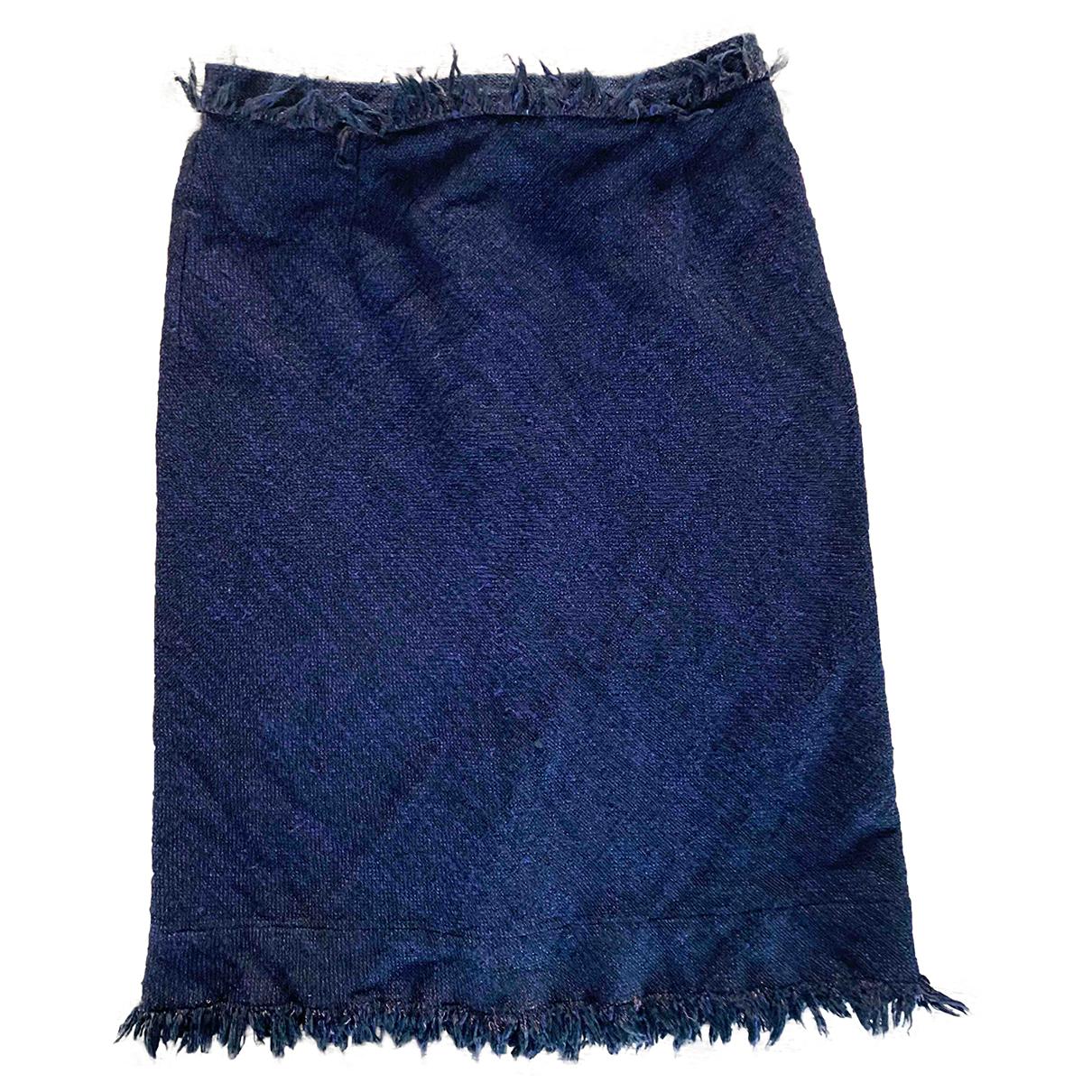 Vivienne Westwood Red Label N Black Linen skirt for Women 44 IT