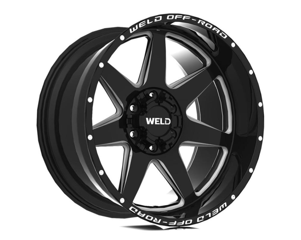 Weld Racing W10900098475 Retaliate Wheel 20x10 6x135 6x139.7 -18mm Gloss Black Milled