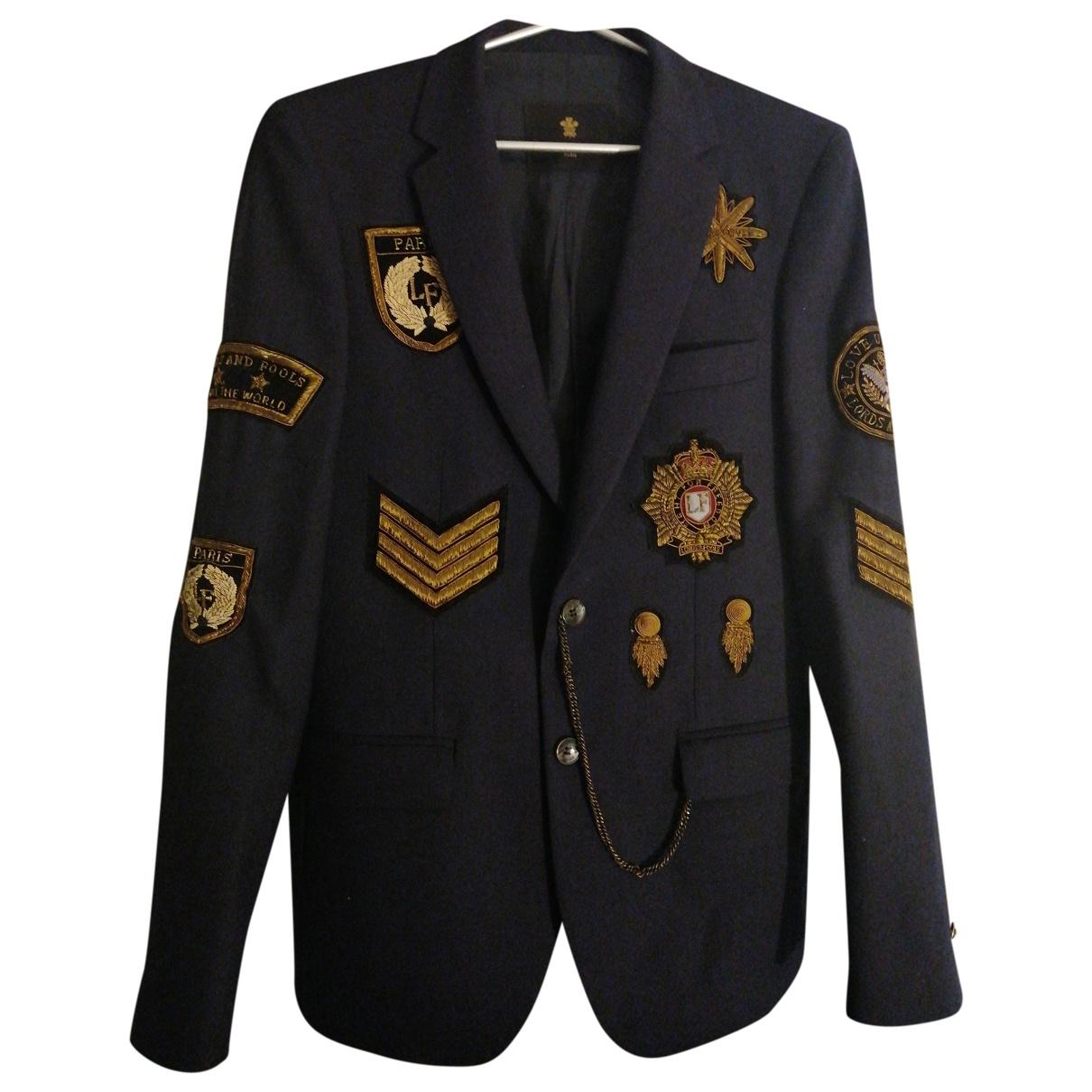 Lords & Fools \N Blue Cotton jacket  for Men 46 FR