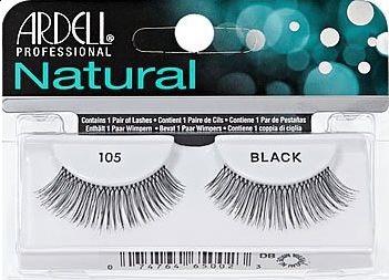 Natural Lashes #105 Black
