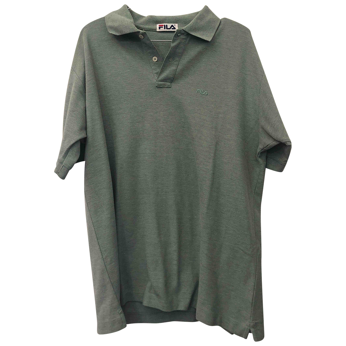 Fila \N Poloshirts in  Gruen Baumwolle