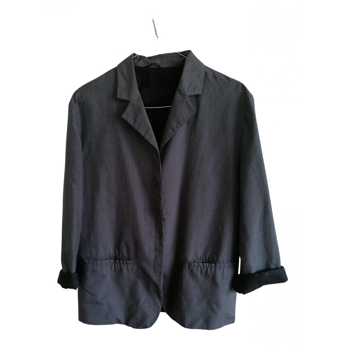 Prada - Veste   pour femme en soie - gris