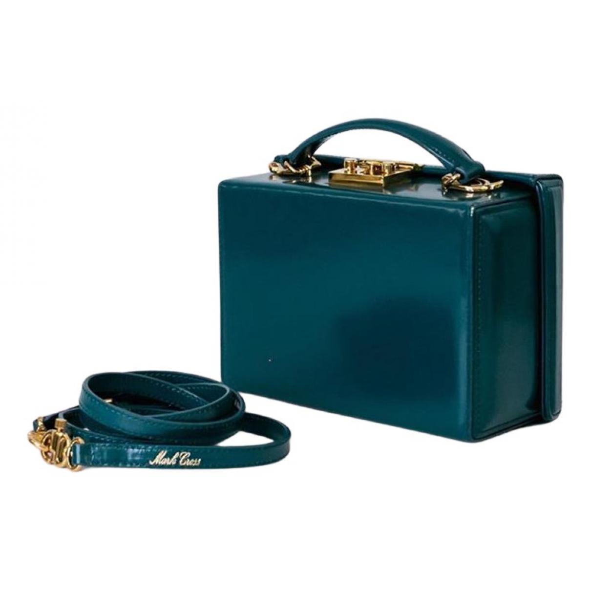 Mark Cross \N Handtasche in  Gruen Leder