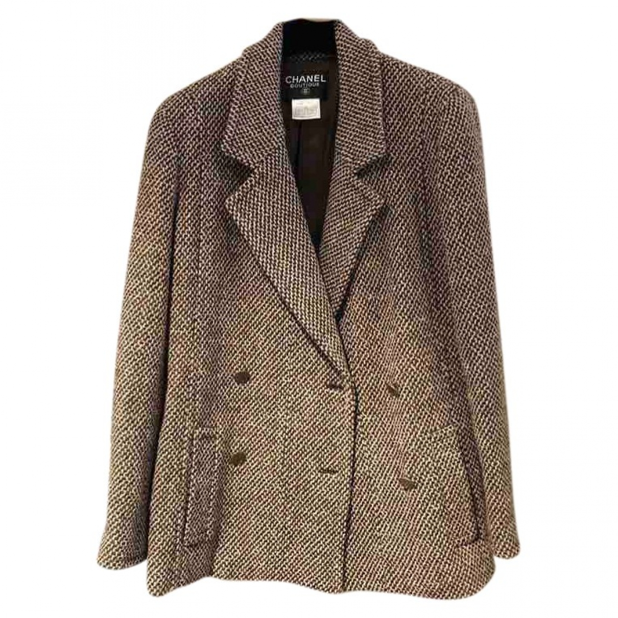 Chanel \N Brown Cotton jacket for Women 38 FR