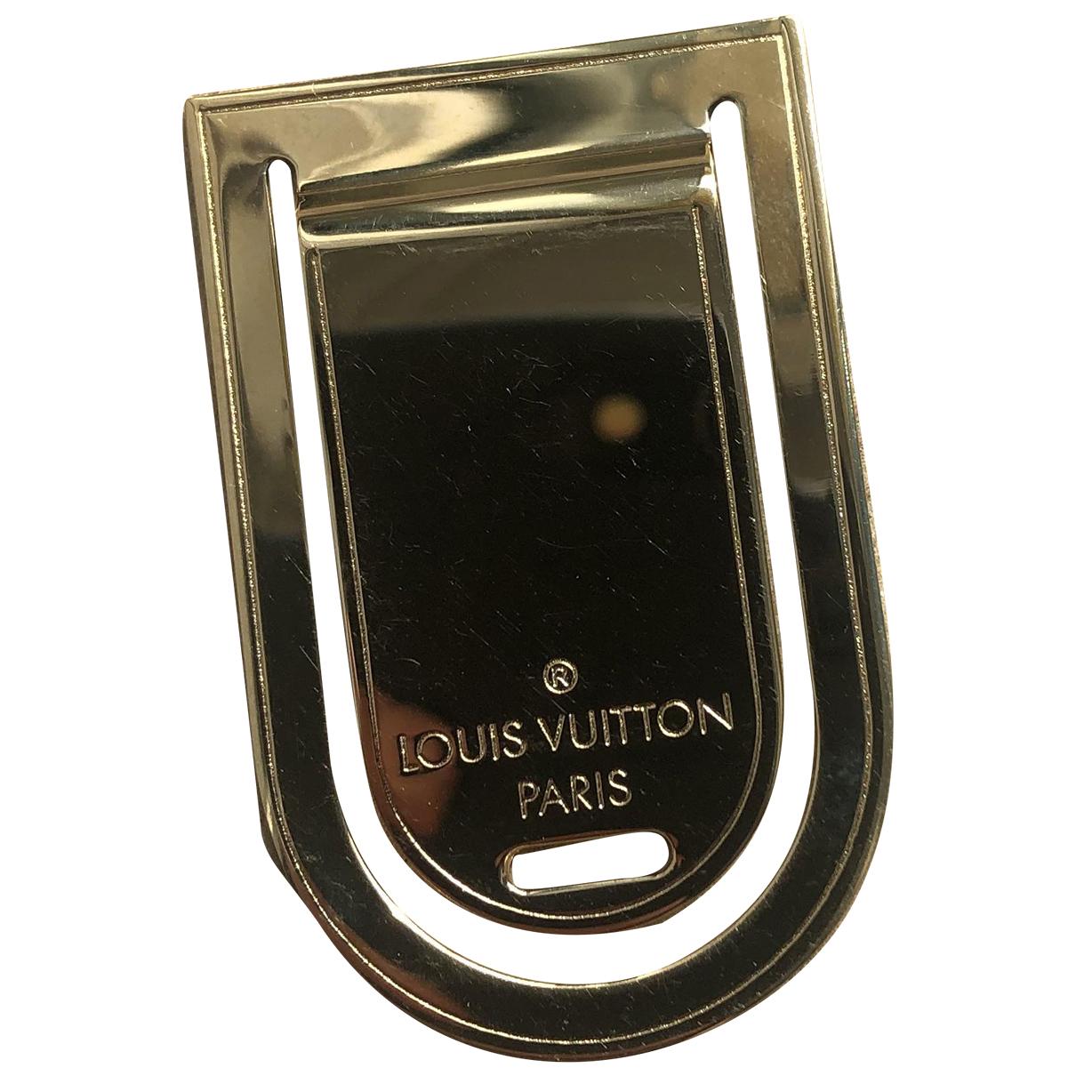 Louis Vuitton \N Schmuckstuecke in  Gold Metall
