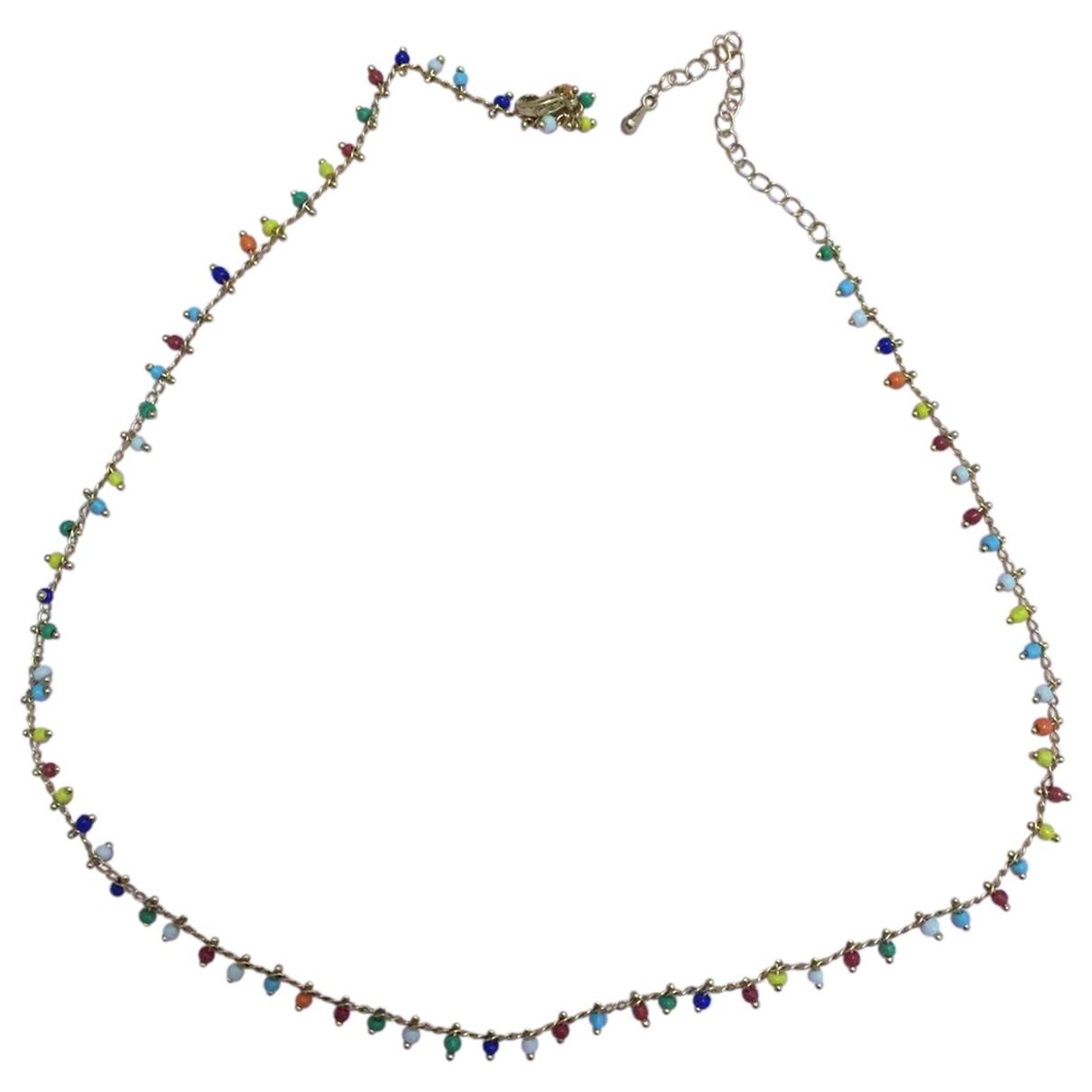 - Collier   pour femme en metal - multicolore