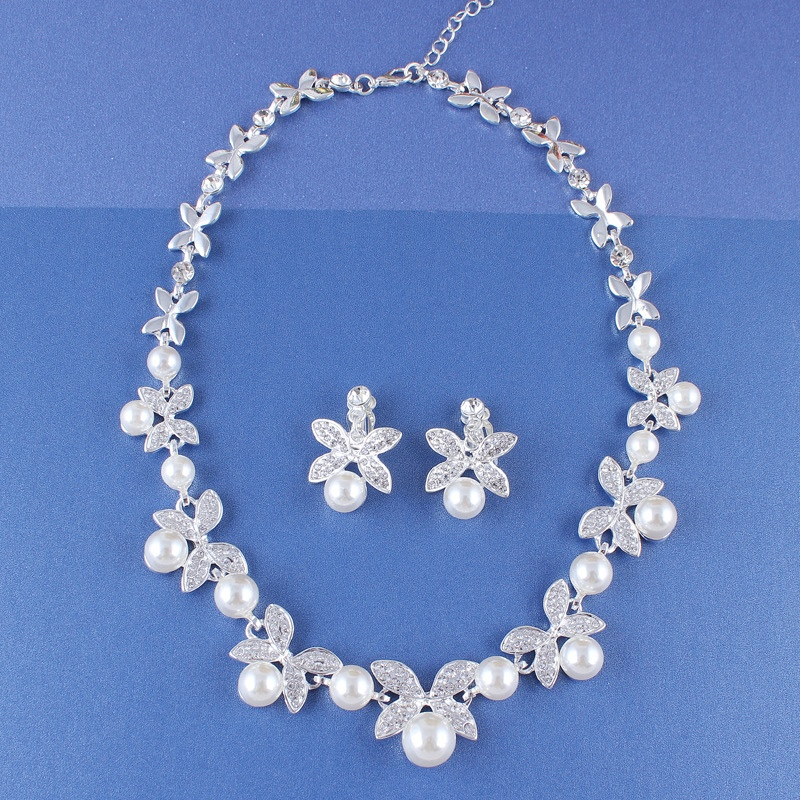 Ericdress Floral Korean Earrings Jewelry Sets