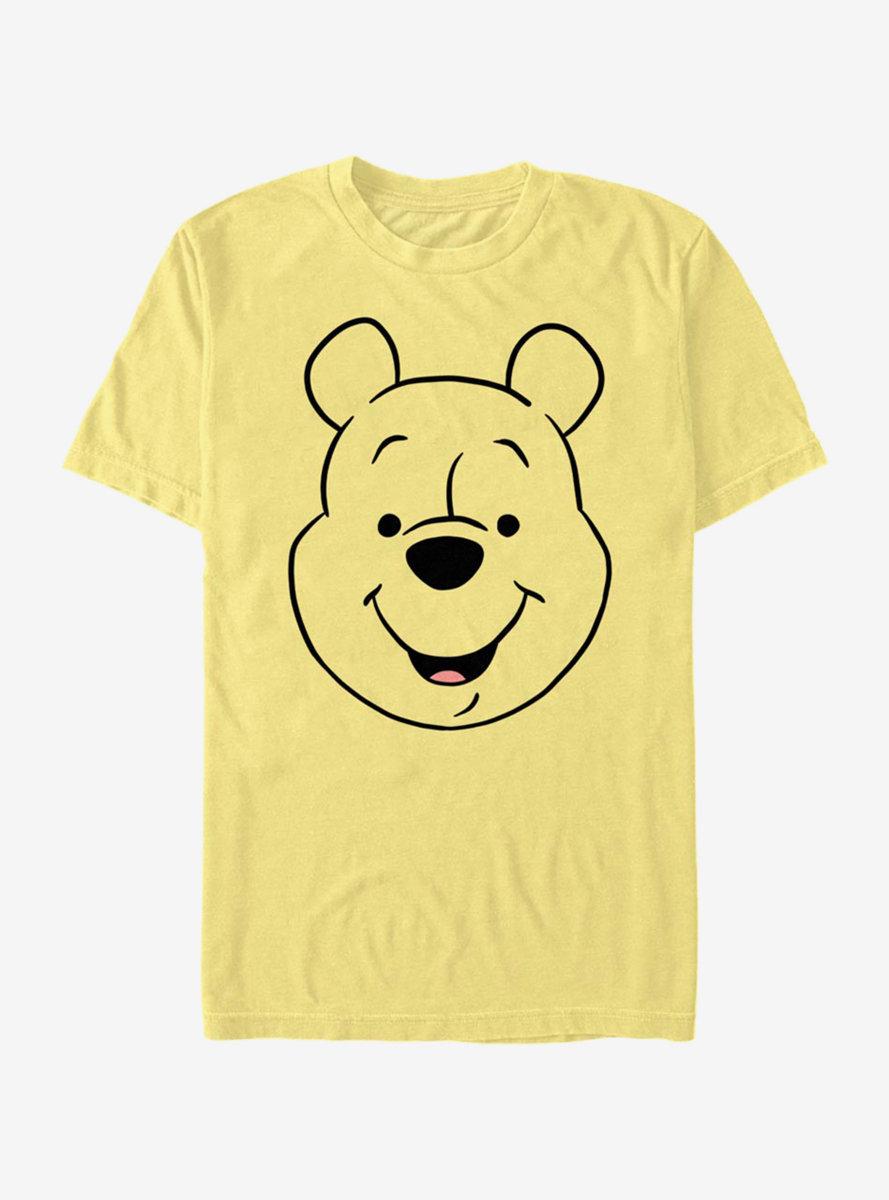 Disney Winnie The Pooh WinniePooh Big Face T-Shirt