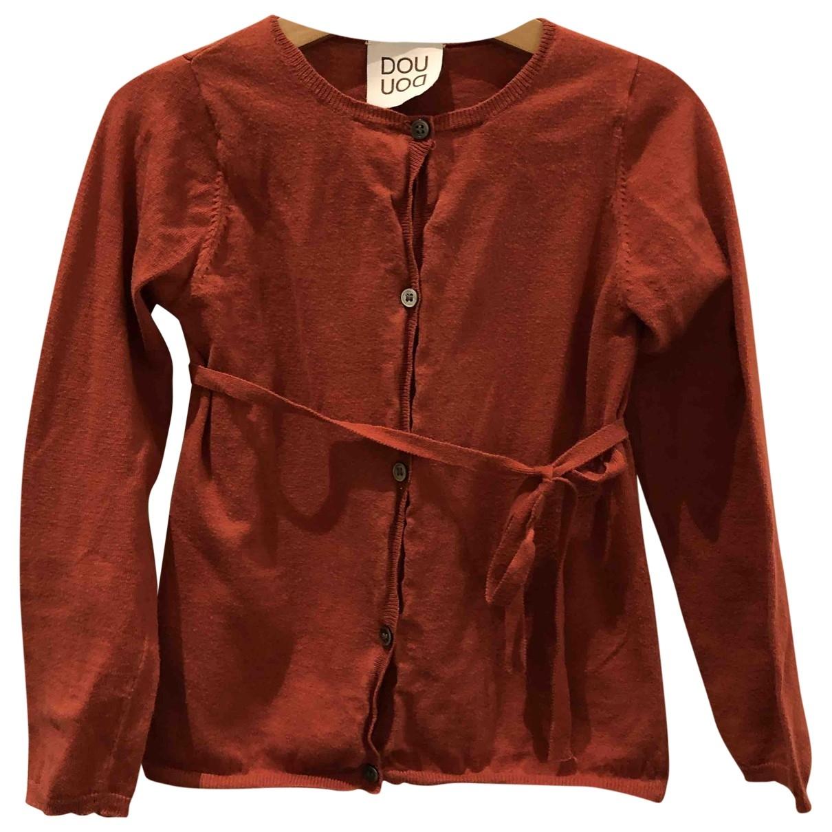 Douuod - Pull   pour enfant en coton - rouge