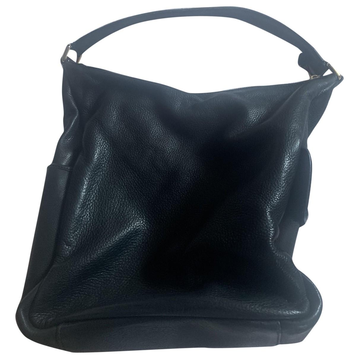 Yves Saint Laurent - Sac a main   pour femme en cuir - noir