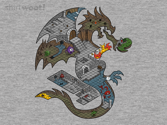 Dungeons In Dragons Tank Top