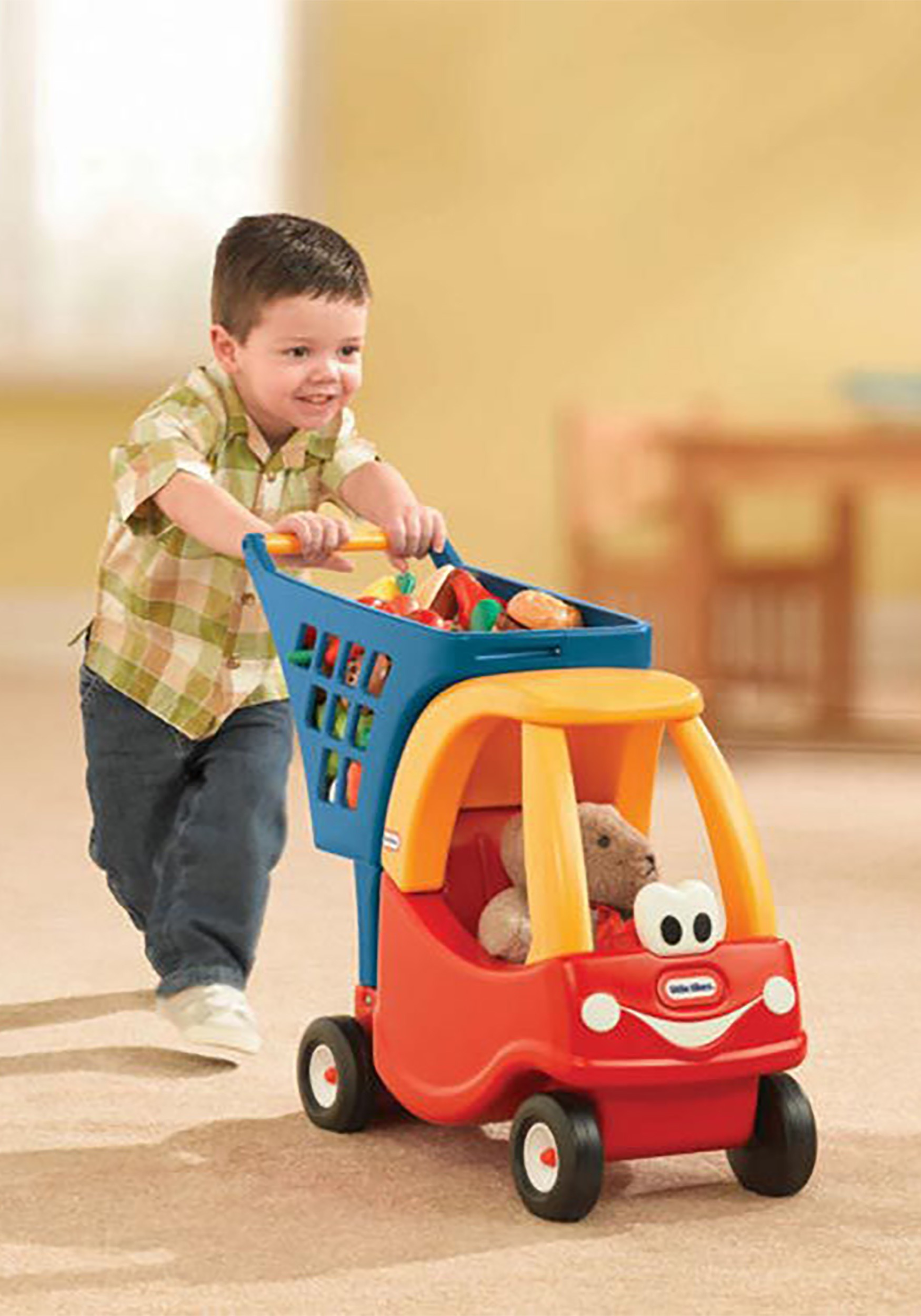 The Little Tikes Role Play Cozy Coupe Shopping Cart
